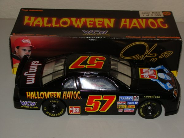 "1996 Action 1/24 #57 Slim Jim ""WCW Halloween Havoc"" BGN Chevy MC Jason Keller CWC"