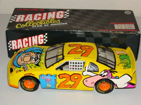 1996 RCCA 1/24 #29 Cartoon Network FLINTSTONES Chevy MC Steve Grissom CWC