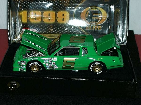 1999 Elite 1/24 #6 Jim Magill Green 1983 Chevy MC Mark Martin CWC