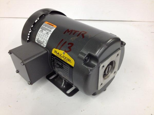 1 4hp 230 460 950 48yz Baldor Hydraulic Pump Motor Used