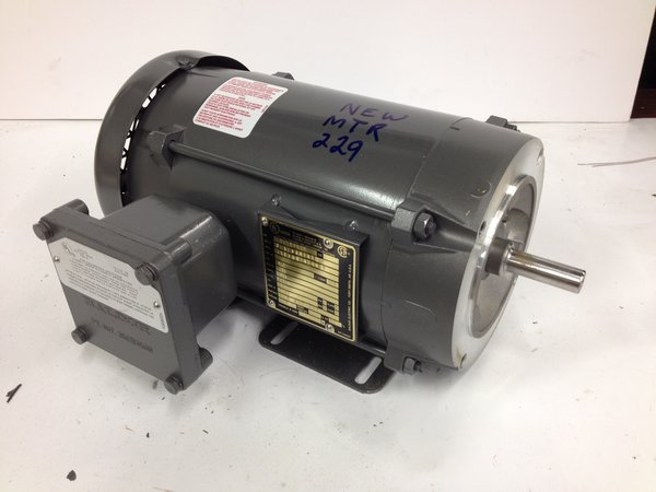 1 5hp 575 3600 56c baldor explosion proof new used for Explosion proof dc motor