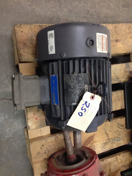 3hp 230 460 1800 182t leeson explosion proof used for Leeson explosion proof motor
