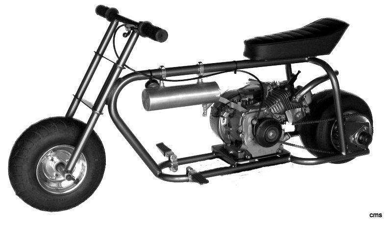Nitro 44 Drag Bike Roller Minibike Kits Mini Bike Parts