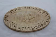 Moose Cribbage Board 4 Track