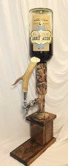 Camo Whiskey Tower With Antler Handle
