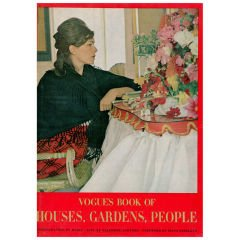 VOGUES BOOK OF HOUSES, GARDENS AND PEOPLE