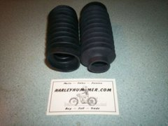 46000-51 Fork Boots, One Pair, Harley Hummer,