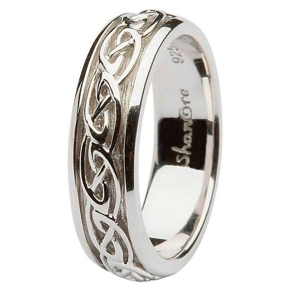 ring celtic band shanore sd10 silver the treasure