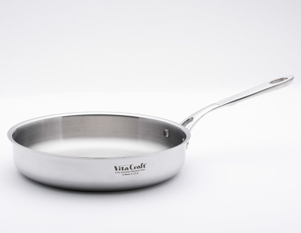 Commerical 10 Fry Pan Vita Craft Corporation Made In The Usa Stainless Steel Cookware