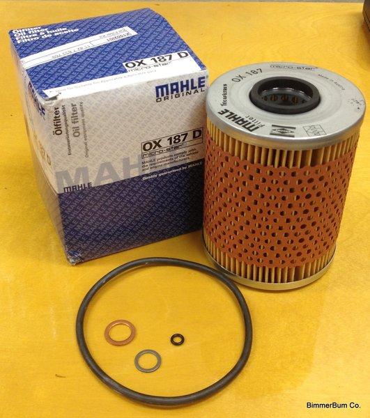 BMW OEM Mahle S50/S52/S54 Oil Filter Kit (OX187D