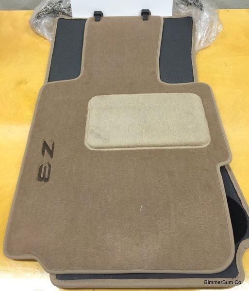 Nla Genuine Bmw Z3 Tan Floor Mat Set 82111470157 Bimmerbum Co Bmw Parts Accessories