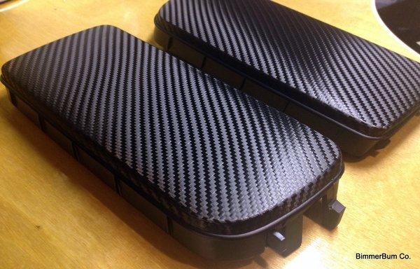 Bmw E36 3 Series Carbon Fiber Look Fog Light Delete Plates