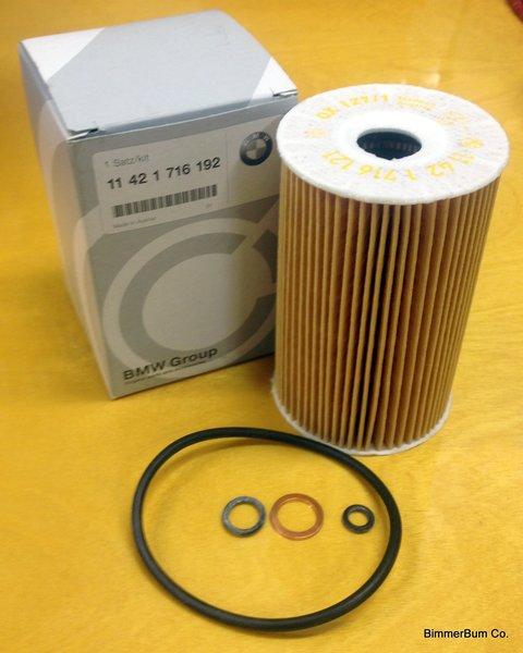 Genuine BMW M44 Oil Filter Kit (11421716192)