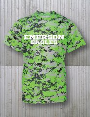 DIGITAL LIME CAMO TECH-T