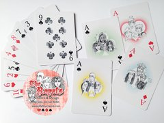 The Royals - Traditional Poker Size Playing Card Deck by JLDELLO