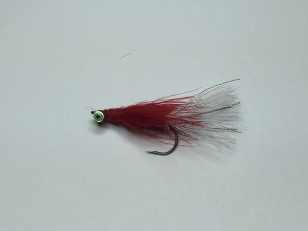 Red fin darter ice fly freedomwild outdoors fly fishing for Ice fishing flies
