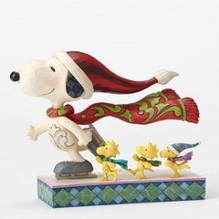 Skate Mates-Ice Skating Snoopy with Friends Figurine