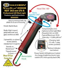 WorkStar® 2003 NDT 365nm UV-A Inspection Light
