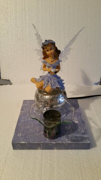 One of a Kind Purple Fairy Adjustable Electric Burner/Warmer