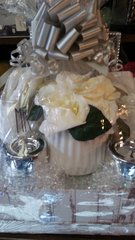 Gift Basket Wedding with Flowers