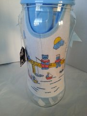 Gift Basket Baby Bottle Blue Boy