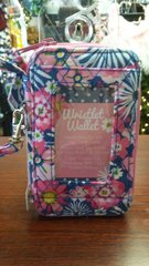 Quilted Wristlet Pink Floral