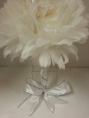 Wedding Bouquet Feather