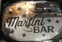 Martini Bar Mirror
