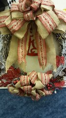 Holiday Wreath Burlap