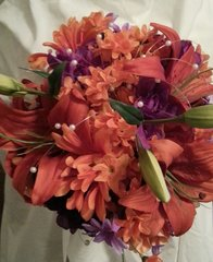 Wedding Bouquet Tiger Lily