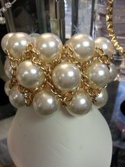 Jewelry Bracelet Pearl and Gold