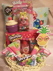 Gift Basket Shopkins Blue