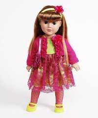 "Dollie & Me Garden Party 18"" Doll"