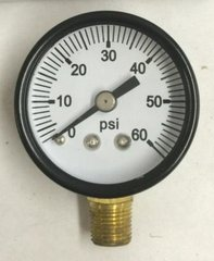 "GA192DS - 0-60 PSI Gauge, 1/8"" NPT (M)"