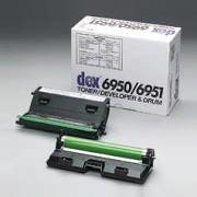 Fujitsu Dex 6950 6951 Genuine Toner Developer Drum Cartridge.