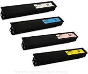 Toshiba TFC25K Black TFC25C Cyan TFC25M Magenta TFC25Y Yellow Compatible Toner Cartridge - US or EU