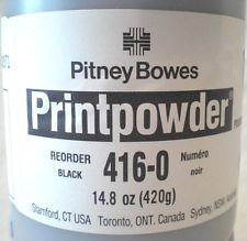 Pitney Bowes 416-0 Genuine Toner Bottle. Pitney Bowes 416-8 Genuine Photoreceptor Drum