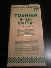 Toshiba IF03 IF-03 Genuine Thermal Fax Ribbon - 2 Pack