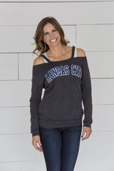 Kansas City Open Shoulder Sweatshirt