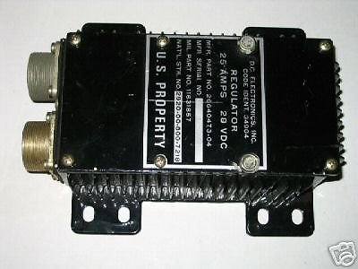 m151 m35 series 28 amp voltage regulator 11631857 nos. Black Bedroom Furniture Sets. Home Design Ideas
