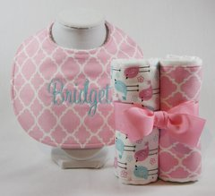 Iittle birds bundle and bib