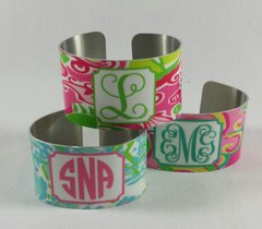 Colorful Personalized Cuff Bracelet