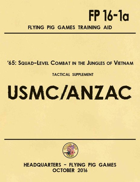 United States Marine Corps AND ANZAC Expansion to '65 Squad-Level Combat in Vietnam