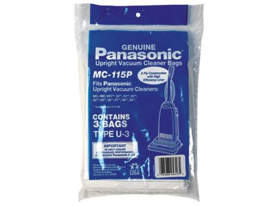 Panasonic Vacuum Bag Type U 3 Mc 115p Shav Tronics
