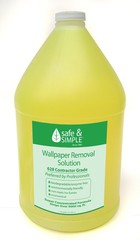 Wallpaper Removal Solution #603 (1) gallon.  Ships only via UPS.