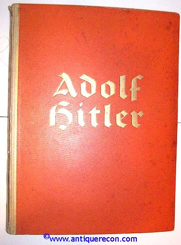 ADOLPH HITLER CIGARETTE BOOK - PICTURES FROM THE LIFE OF ...