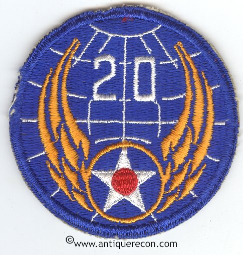 US Twentieth Air Force