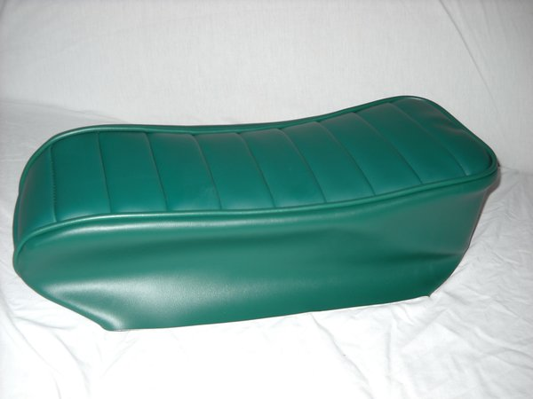 Mini Bike Seat Upholstery Tuck N Roll Dark Green
