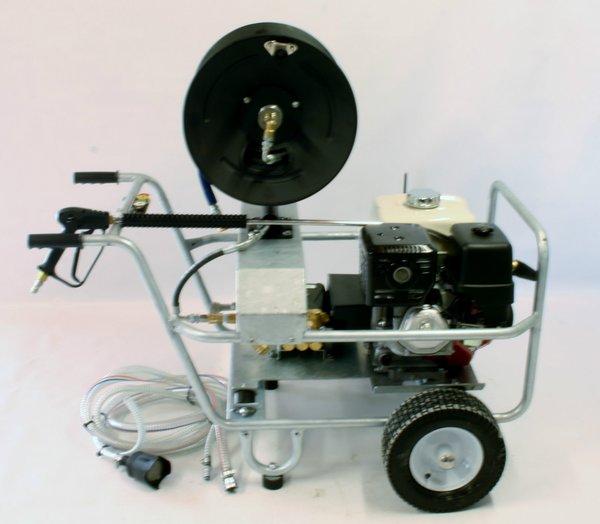 Honda petrol pressure power washer gx390 13 hp engine for Honda gx390 oil capacity