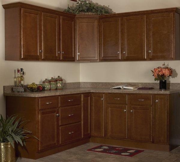 Bristol Brown kitchen | Cabinet Barn